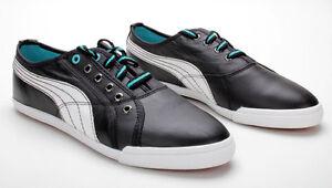 Détails sur Puma crete lo L mix soit + 'S WOMEN Chaussures de Sport Sneaker 350533 01 noir et blanc afficher le titre d'origine