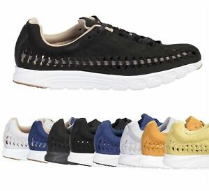 Nike Mayfly Woven Black Summit White Low Top Running Shoes