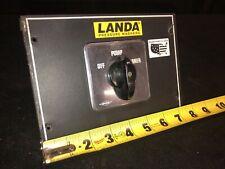 Genuine Landa Ohw4 30024c Pressure Washer Offpumpburner Switch Bremas Brand