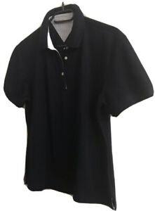 Tommy-Hilfiger-Damen-Polo-Shirt-Gr-38-40-Dunkelblau