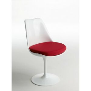 Sedia Tulip Design Eero Saarinen Made In Italy Ebay