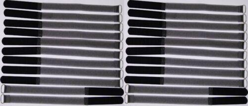 20 x kabelklettband FK 30 cm x 20 mm Noir Velcro Velcro Serre-câbles Bande œillet