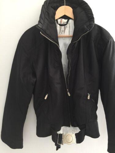 Fornyelse Vintage Puffer Coat Jacket Urban Bomber Sleeve Black Ski Batwing 77znwg