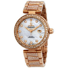 Omega De Ville Ladymatic Automatic Ladies 18 Carat Rose Gold Watch