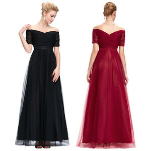 New Long Bridesmaid Wedding Evening Prom Cocktail Formal Ball Gown Party Dresses