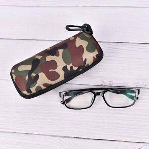 Glasses-Box-Sunglasses-Case-Camouflage-Storage-Protector-zipper-Container-TKDD