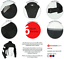 miniature 41 - Leather Motorbike Motorcycle Jacket With CE Armour Sports Racing Biker Thermal