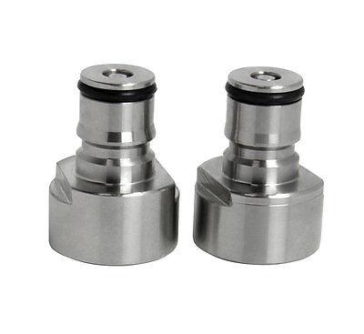 Ball Lock Conversion Kit  Sankey Keg Coupler Adapter for Home brewing Wine Make