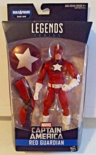 MARVEL LEGENDS SERIES Captain America BAF géant rouge Gardien Nouveau DGSIM