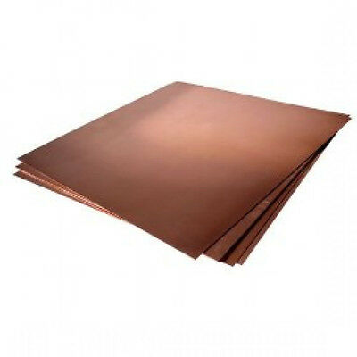 1 pcs Cu Copper sheet 0.5mm thick 300mm x 100mm #E3-15