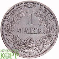 G962) J.17 KAISERREICH 1 Mark 1904 D