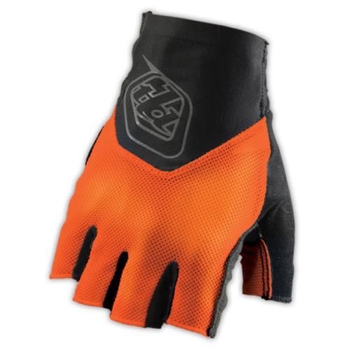 Troy Lee Designs Ace Fingerless Glove Fluorescent Yellow Black Orange S M L XL
