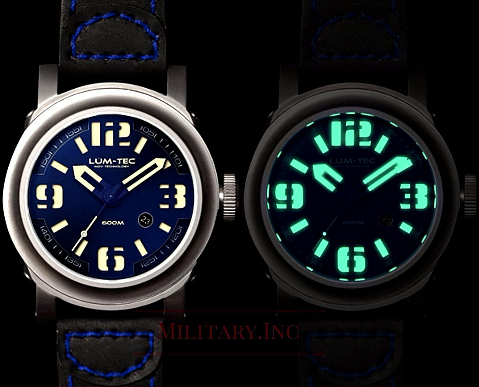 green tecwatch straps watches lum mg tec gmt w leather b nylon combatb combat watch