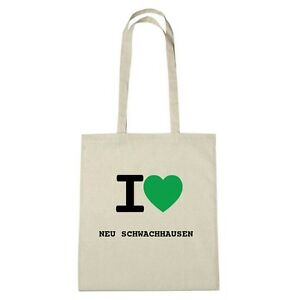 Schwachhausen Color Eco natural Love I Bolsa Medio Ambiente Yute De Nuevo XqUxF7zw