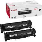 Canon 2662B005 718 Black 2er-pack schwarz D