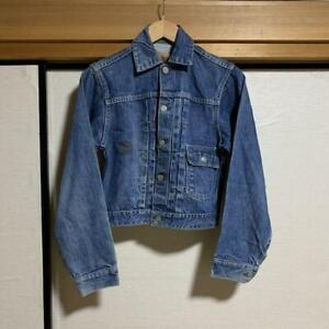 PENNY-039-S-FOREMOST-40-039-s-Denim-Jacket-Vintage-Retro-Size-S-from-Japan