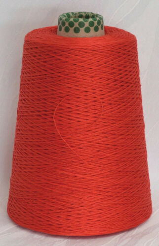 toskana 100/% mercerisierte Mako-Baumwolle 25 EUR //Kg Häkeln rot Lineapiu LL 400m
