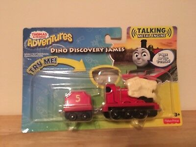 Thomas and Friends Imaginative Talking Engines Dino Quest James