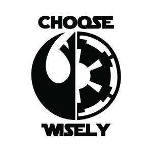 Star-Wars-CHOOSE-WISELY-Sticker-Vinyl-Decal-window-laptop-Oracal