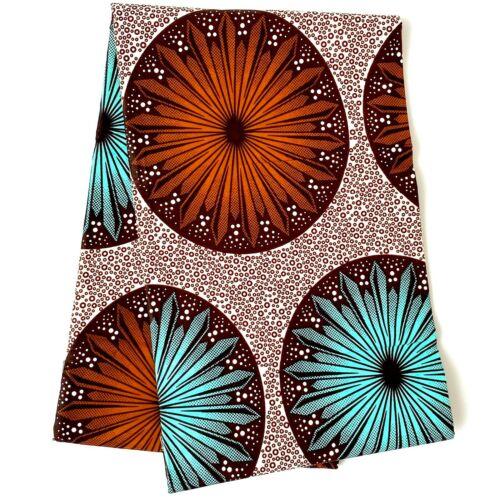 Impresión de algodón africanos telas Ankara Cera Hermoso Colores yarda 1 a 6 metros