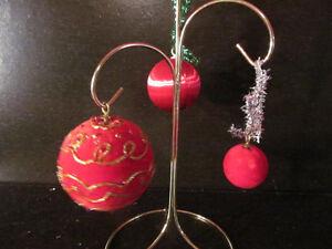 42 Vintage Red Velvet & Satin Christmas Ball Ornaments 3 Sizes | eBay