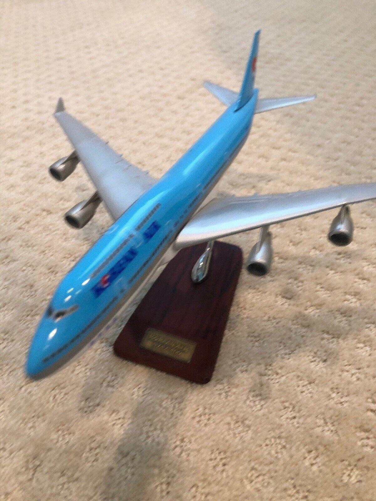 Korean Air Boeing 747-400 pasajero avión avioneta Modelo Diecast