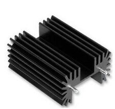 Heatsinks TO-218,TO-220,TO-247 PCB Black Anodized 38*42*25mm,cooling, Transistor