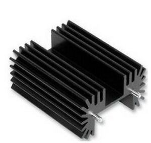 """Anodized Aluminum Heat-Sink PCB Mount 1/"""" x 1.65/"""" x 1.5/"""" TO-220"""
