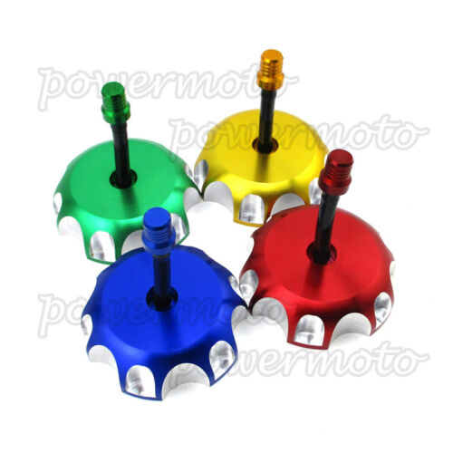 Gas CNC Fuel Tank Cap For Honda CRF250 CRF450 XR200 XR600 XR 650 R TRX 450 400