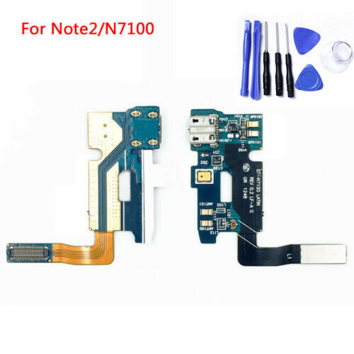 USB Charger Charging Port Dock Flex Cable For Samsung Galaxy Note 2 N7100