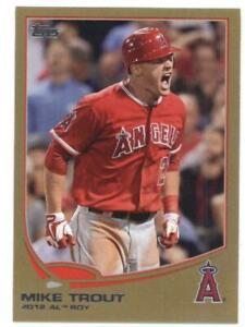 1x-2013-Topps-Gold-338-Mike-Trout-Angels-NM-MT-2013