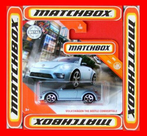 Matchbox 2020 volkswagen the beetle convertible 2//100 neu/&ovp