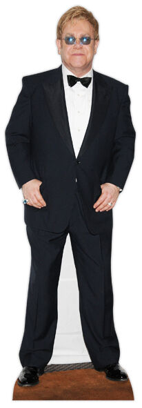Elton John Lebensechte Größe Pappfigur Aufsteller Standfiguren Sängerin Pop Star