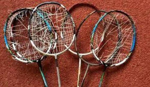 expérimentés Stringer de plus de 10,000 plomb Badminton Raquette RE enguirlander service