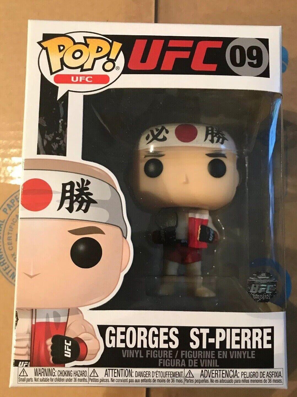 Ufc: Toy New George St Pierre Funko Pop