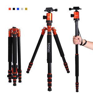 ZOMEI-Pro-Z818-Stativ-Einbeinstativ-Fotostativ-Kugelkopf-fuer-Canon-DSLR-Kamera