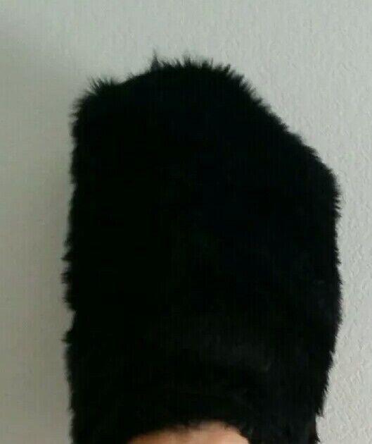 Black Royal Guard Bearskin Hat English Soldier Nutcracker Majorette Band British