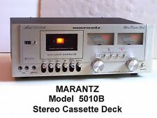 Marantz Model 5010B Stereo Cassette Deck very nice but needs some help