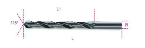 Beta Tools 410 HSS Twist Drill Bit Cylindrical Shank Rolled 2.25mm004100055