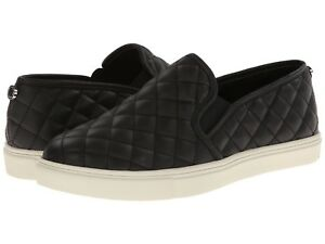 Steve-Madden-Women-039-s-Ecentrcq-Slip-On-Sneakers-Black