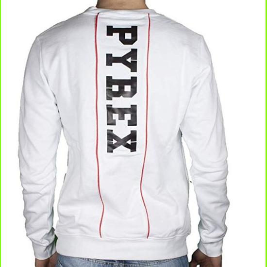Sweatshirt Pyrex Mann 19EPC40123 Weiß-XL
