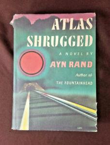 ATLAS SHRUGGED by Ayn Rand TRUE 1st trade edition 1st   Etsy