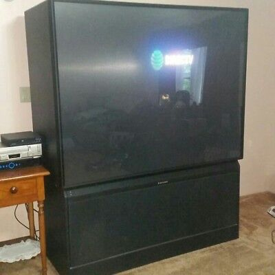1999 Mitsubishi Rear Projection Television 70 U0026quot  Vs