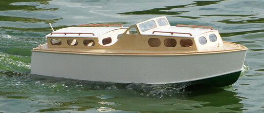 Wavemaster 25 Boat Model Model Model Wooden boat kit Lesro models Les Rowell 81c637
