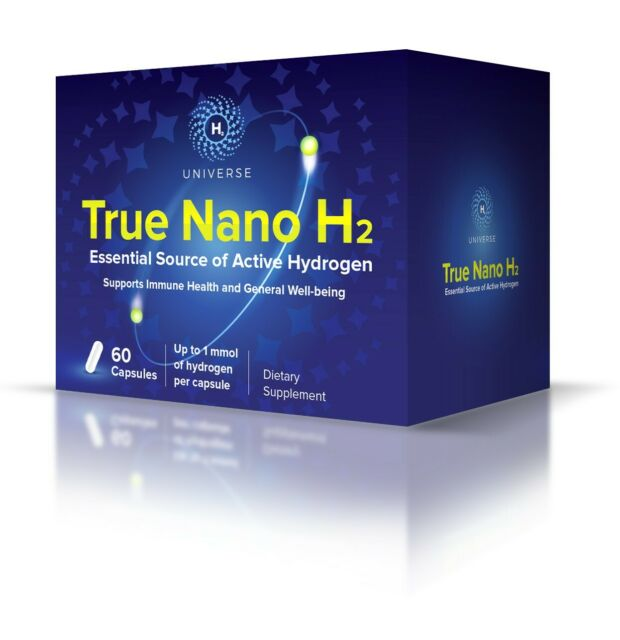 Best Source of Active Hydrogen Nanobubbles  - True Nano H2 (20 mL of H2/capsule)