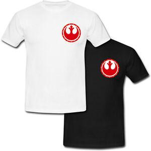 1b3ee3569ac9f Details about Rebel Alliance Starbird Logo Star Wars Force Awakens T-shirt  USA Size