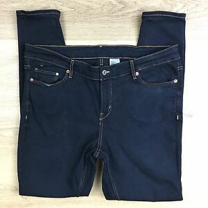 H-amp-M-amp-Denim-Skinny-Women-039-s-Jeans-Size-20US-Actual-W38-L30-5-X15