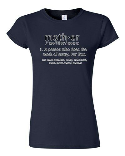Junior Mother Definition Meaning Dictionary Mothers Day Funny DT T-Shirt Tee