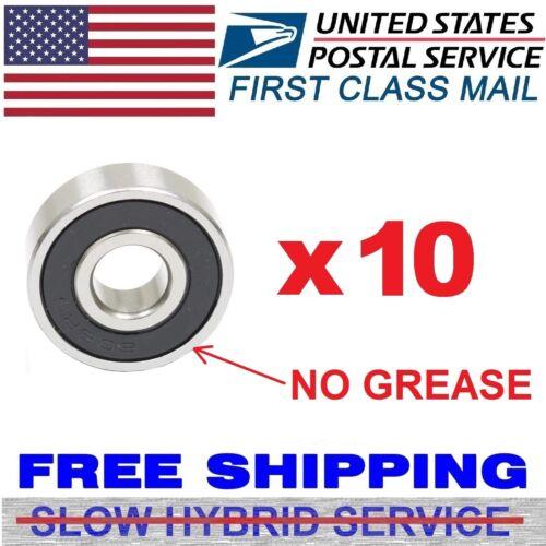 Lot 1-1000pcs in-line skate OPEN no seals hockey bearings Fidget Spinner 608