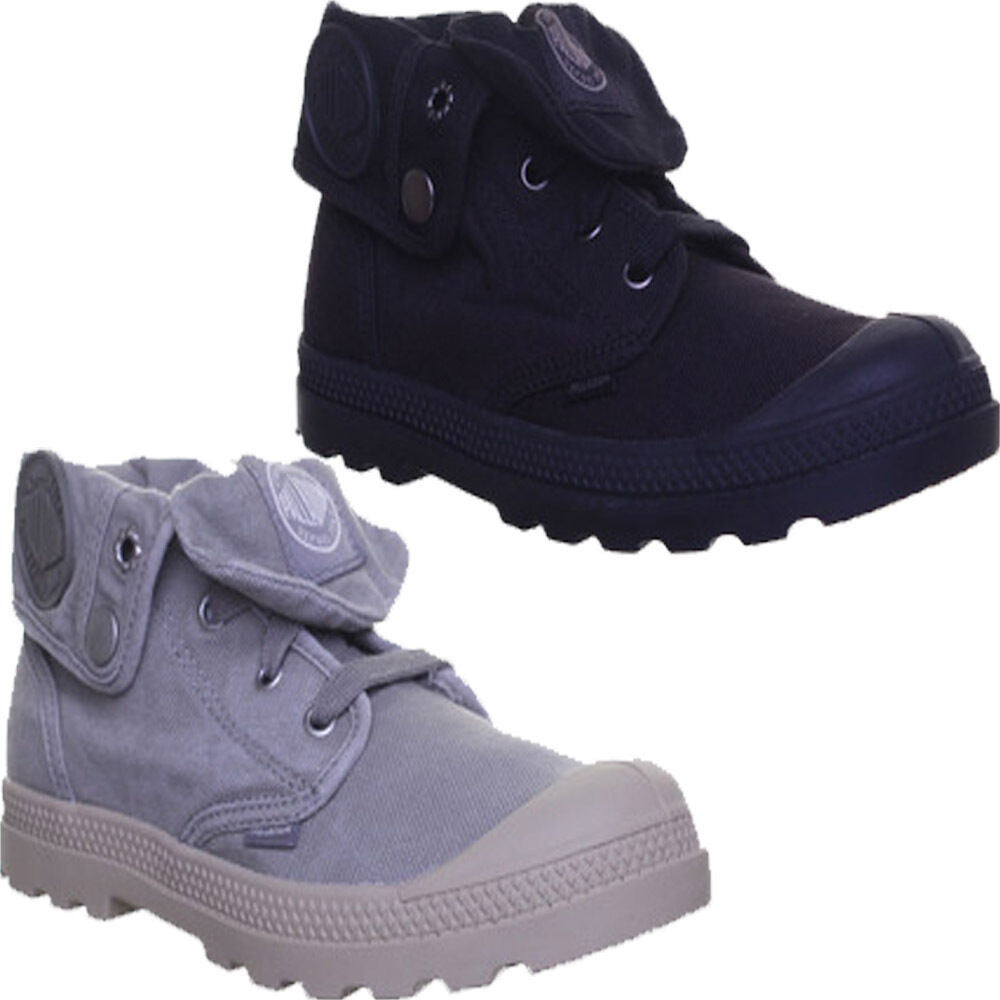 Palladium Baggy Niedrig Lp Damenschuhe Canvas Fold Over Stiefel Ankle Stiefel Over Gr  e 3 4 5 6 7 8 0d564b
